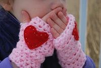 Little Girl Handwarmers