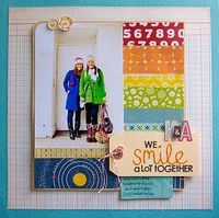 by Kelly Purkey......love the rainbow colored paper effect