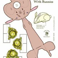 Bunny Bowling. I want to make these at Easter. So fun. $FREE