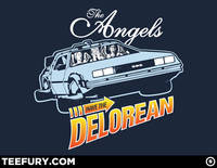 Angels have the Delorean from teefury.com