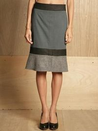 Jil Sander women's happiness skirt