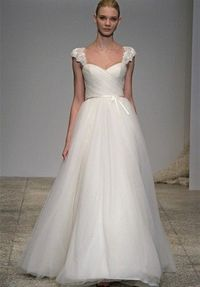 I would add a bit of a thicker ribbon at the waist but this is so pretty!