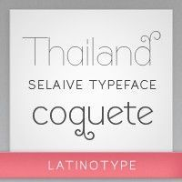 Things i NEED - Selaive, typeface