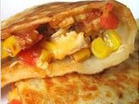 crock pot chicken quesadillas