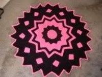 This free crochet pattern is perfect to create a colorful afghan using this 24-Point Round Ripple pattern. Combine your two favorite colors to personalize this afghan, and continue the pattern for however large you wish to make your afghan. It would make ...