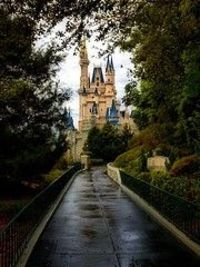 This photographer captures a quiet moment in the Magic Kingdom.