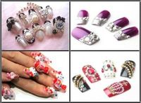 How to Apply Jeweled Nail Art